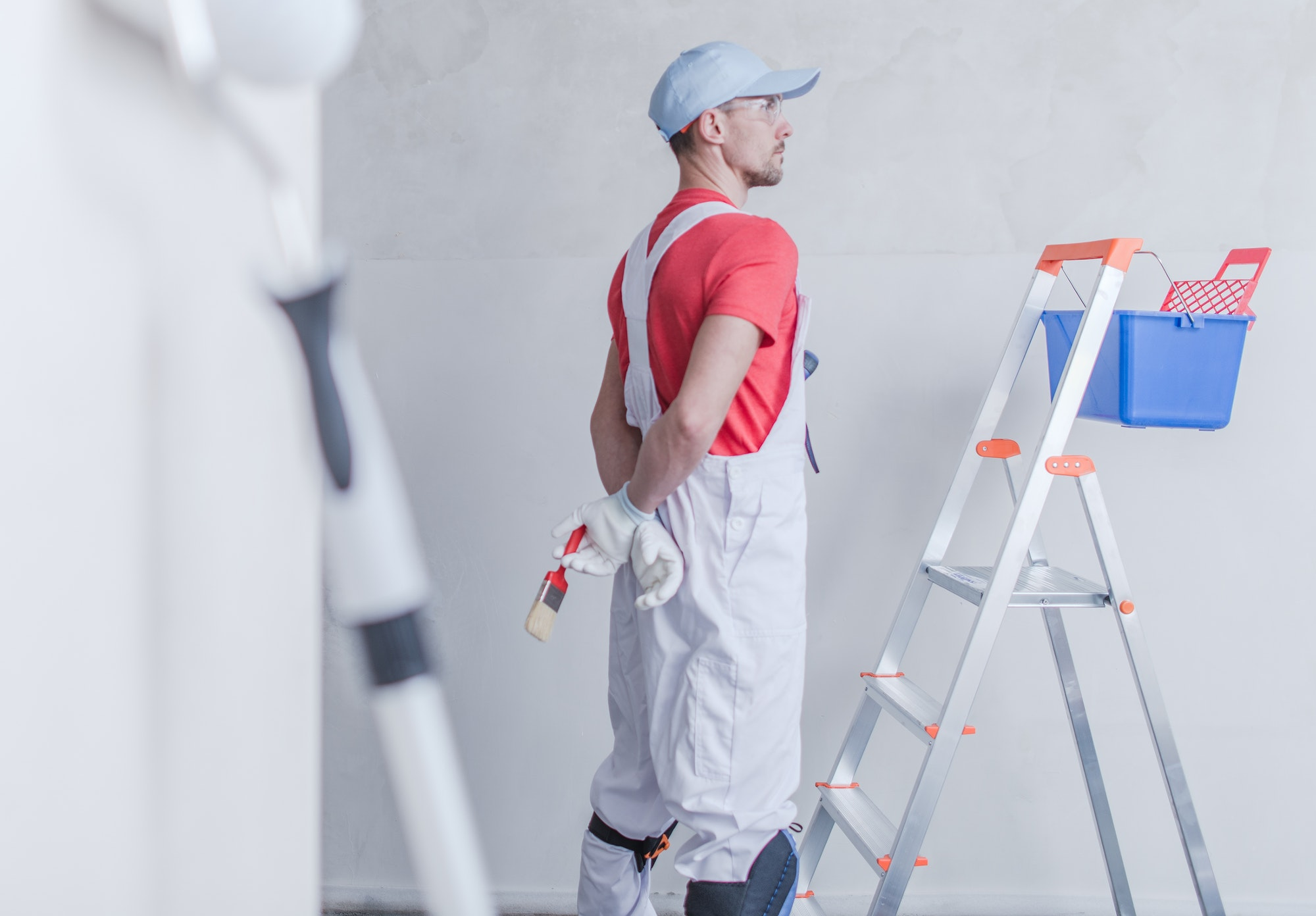 Room Painter and His Job